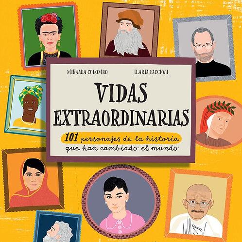 Libro Vidas Extraordinarias