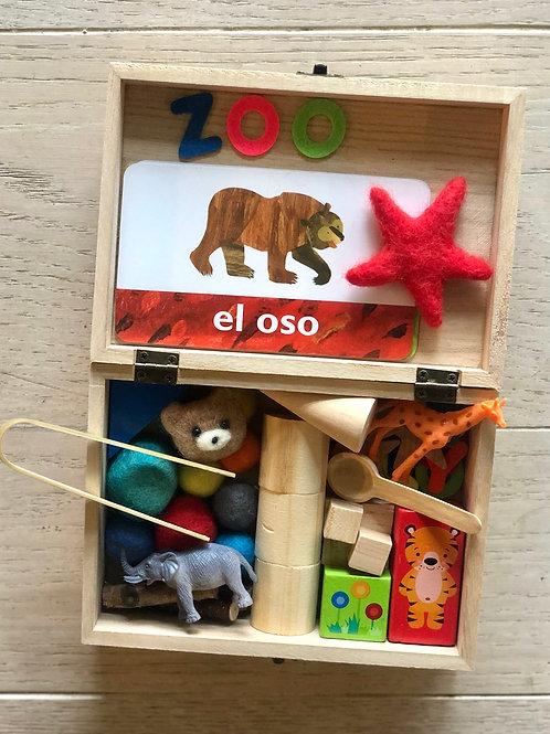 Spanish Zoo Box