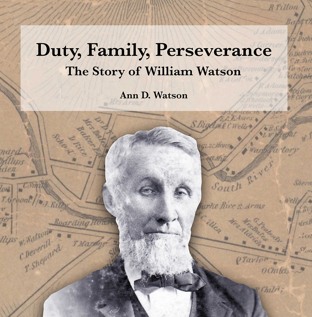 Duty, Family, Perseverance: The Story of William Watson (book cover)