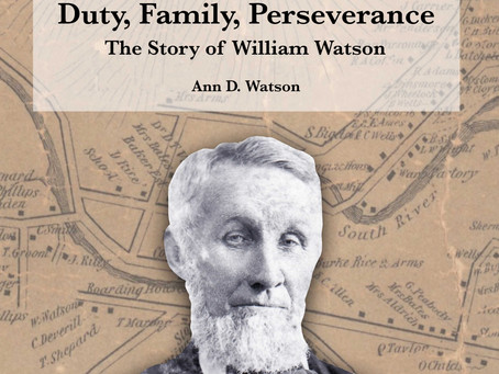 Now Available: William Watson's Story