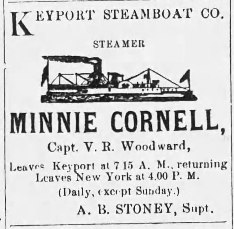 Minnie Cornell ad