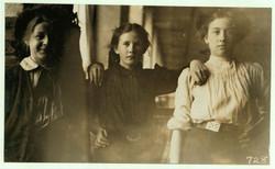 Woollen mill workers