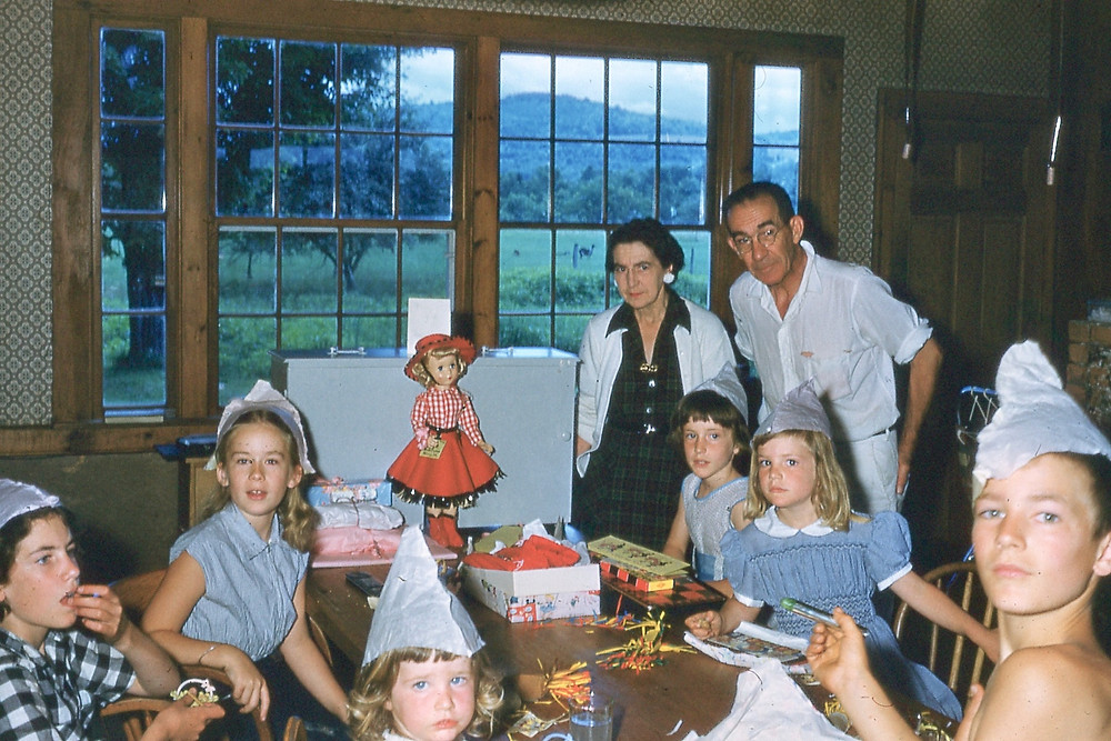 Watson birthday scene