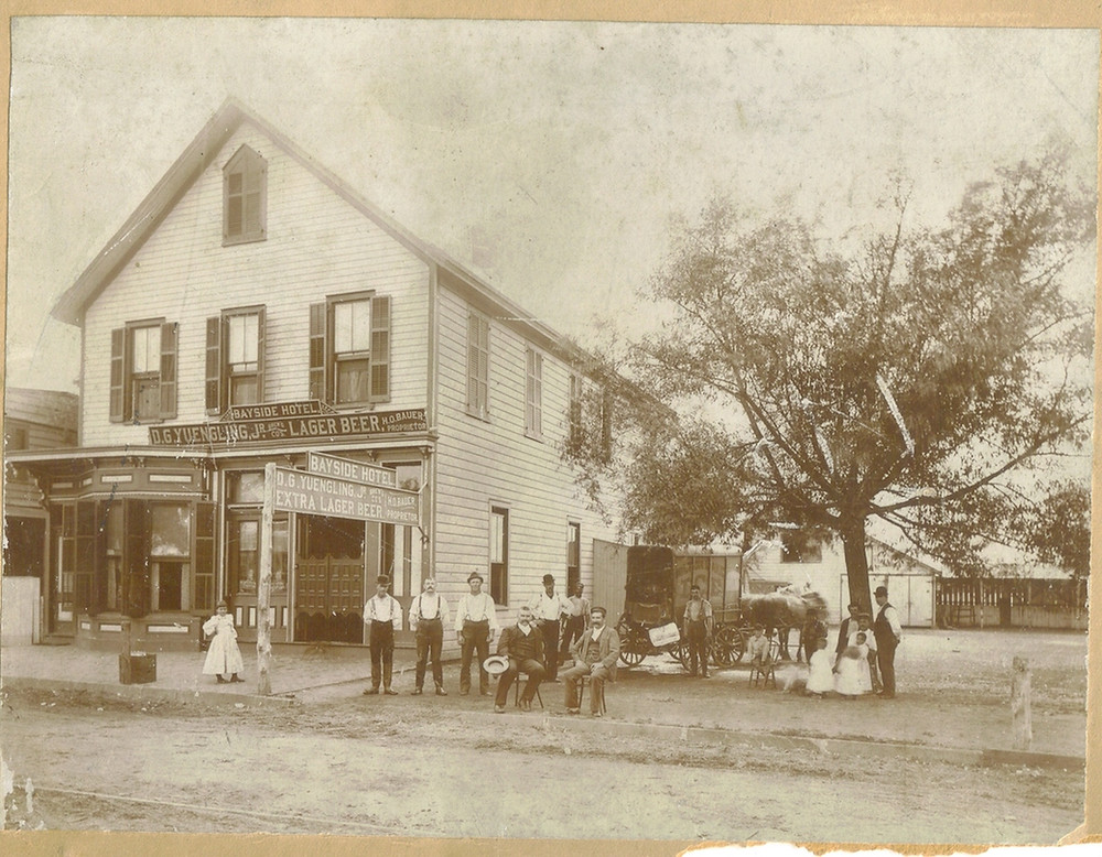 Bayside Hotel, Keyport, New Jersey, c.