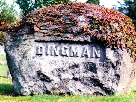 The Dingman Boulder