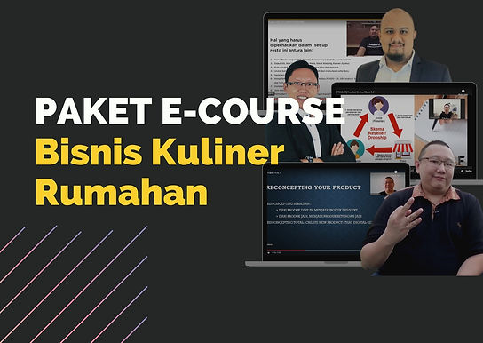 [E-COURSE] Paket E-Course Bisnis Kuliner Rumahan