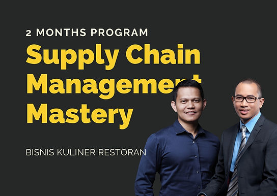 [PRE ORDER E-COURSE] Supply Chain Management Mastery