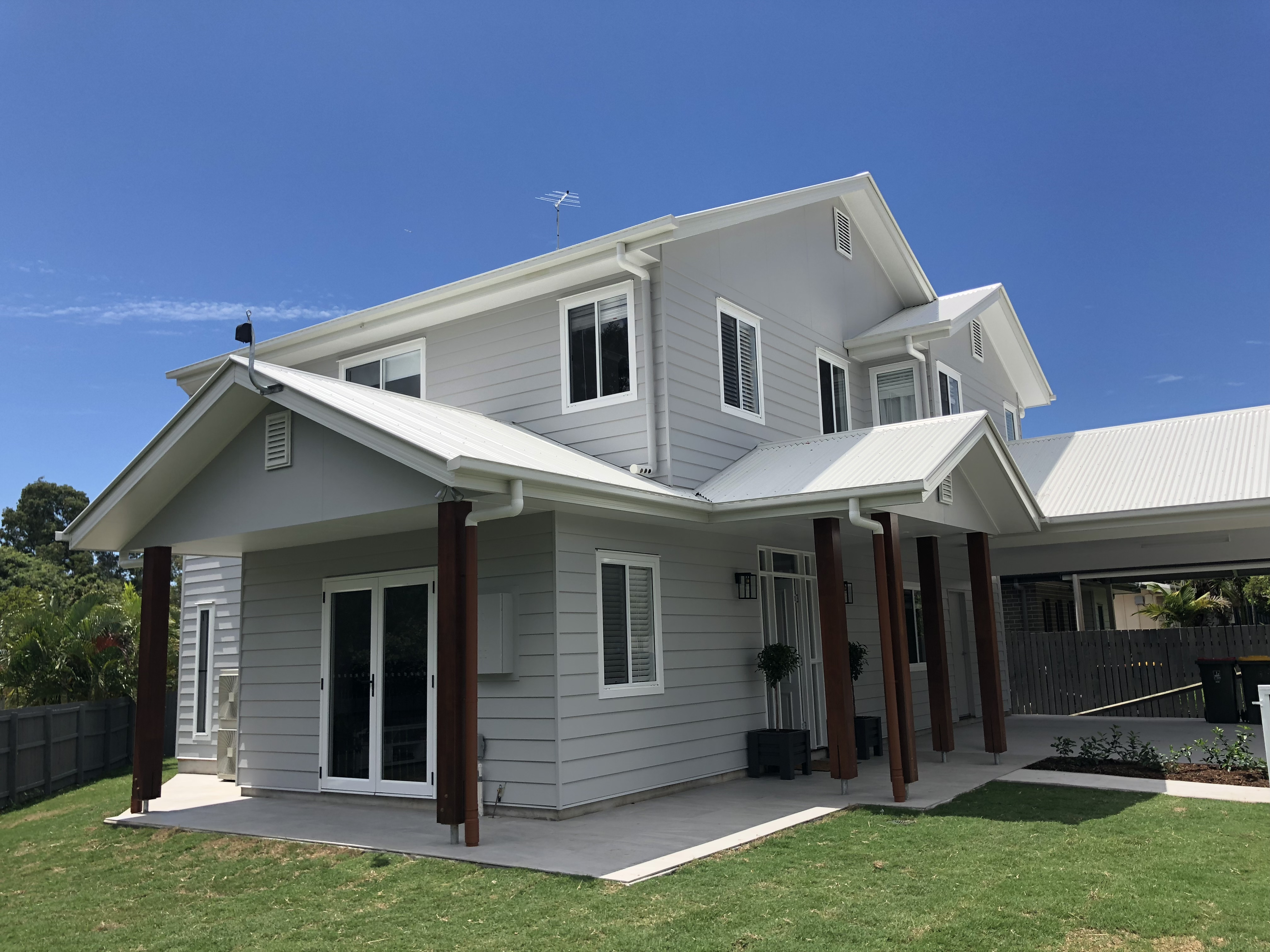Exterior Painting Weatherboard Home