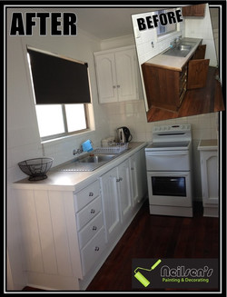 Edited Before and after kitchen