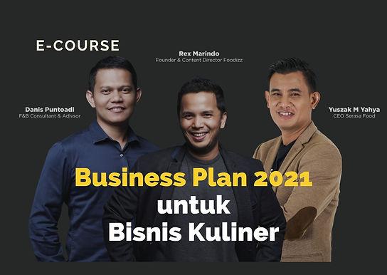 [E-COURSE] Menyusun Business Plan untuk Bisnis Kuliner