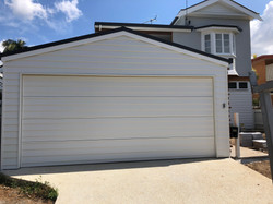 Renovated and Repainted Front Garage