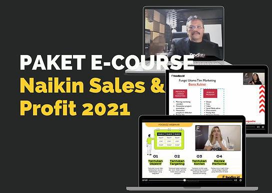 [E-COURSE] Paket E-Course Naikin Sales dan Profit Bisnis Kuliner