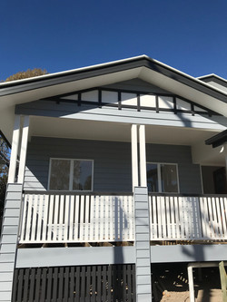 Weatherboard Home with Gable Feature