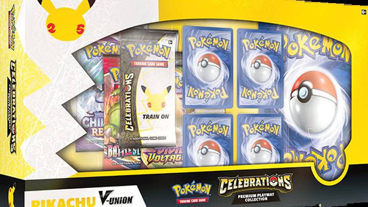 Celebrations Special Collection Pikachu V-Union