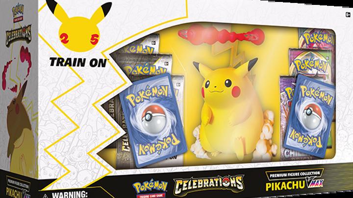Celebrations Premium Figure Collection - Pikachu VMAX