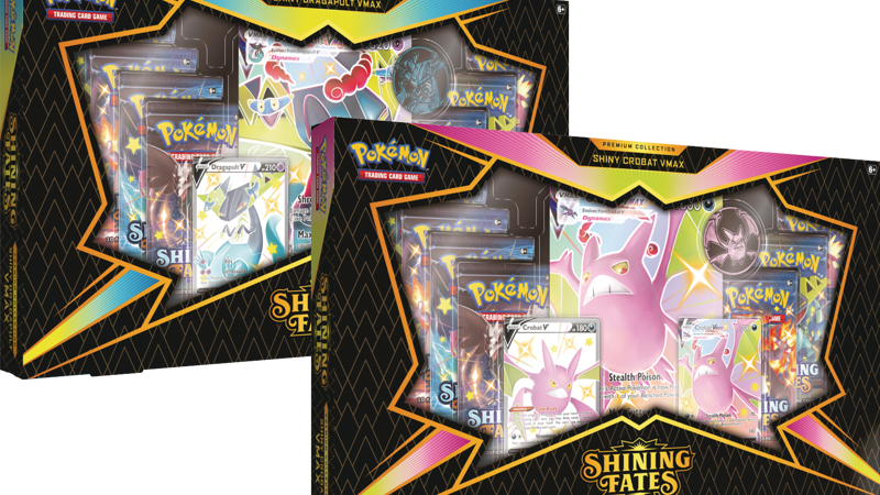 Shining Fates Mad Party Pin Collection - Bundle of 4