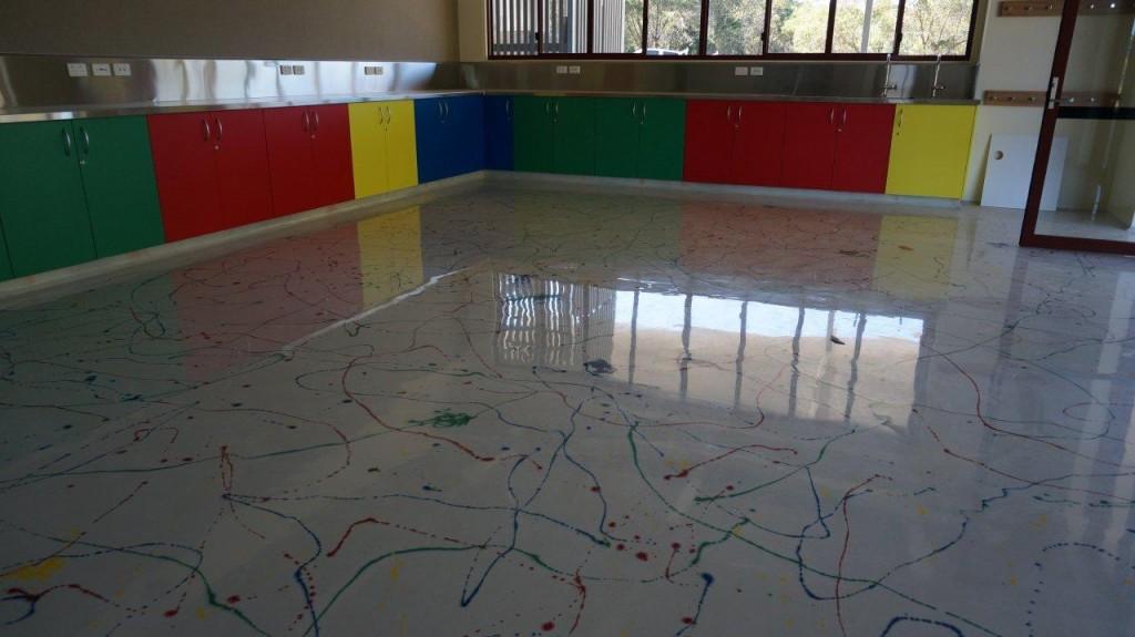 piso escola crianca