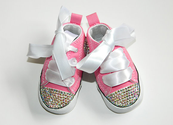 Bling infant converse