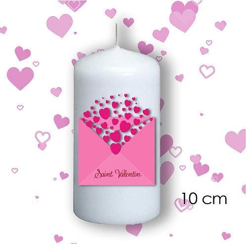 Bougie de Saint Valentin  - 107