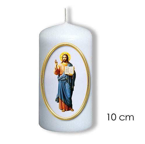 Bougie de dévotion - Jésus Christ  bénissant-  303