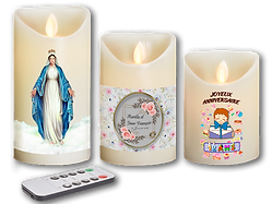 bougies LED personnalisées, Fabricant de bougies personalisables, 36 Chandelles basé en Somme (80) réalise des bougies personalisées pour naissance, bougies personalisées pour baptême, bougies personalisées pour communion, bougies personalisées pour mariage, bougies personalisées pour anniversaire. 36 Chandelles, Somme (80)