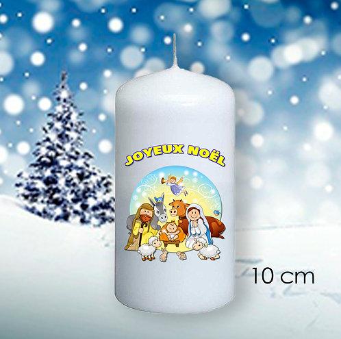 Bougie de Noël  - 1012