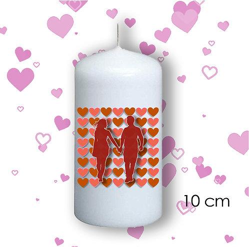Bougie de Saint Valentin  - 104