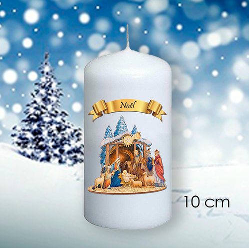 Bougie de Noël  - 1014