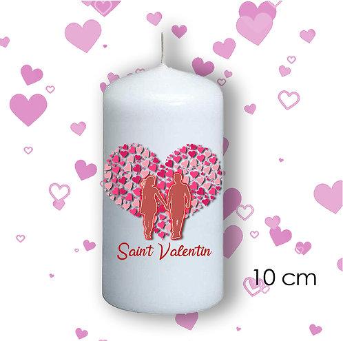 Bougie de Saint Valentin  - 105