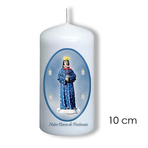 Bougie de dévotion -Notre Dame de Pontmain - 909