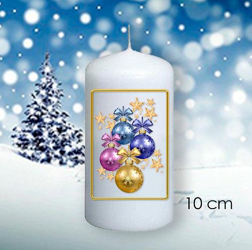 Bougie de Noël  -606