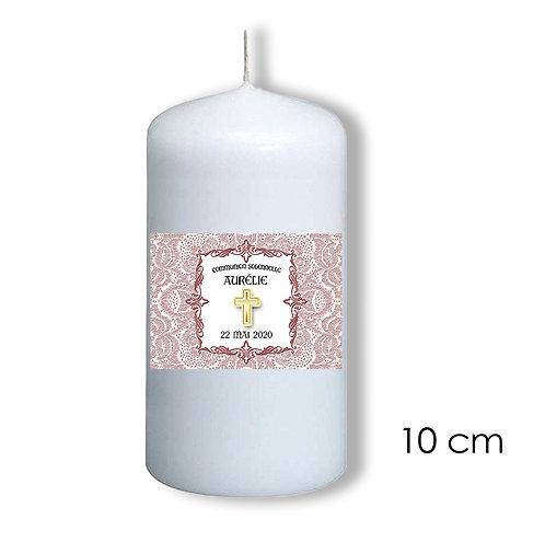 Bougie de communion fille -  101