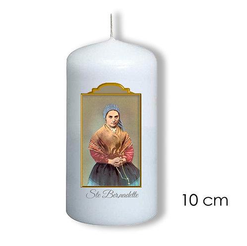 Bougie de dévotion -Sainte Bernadette -  606