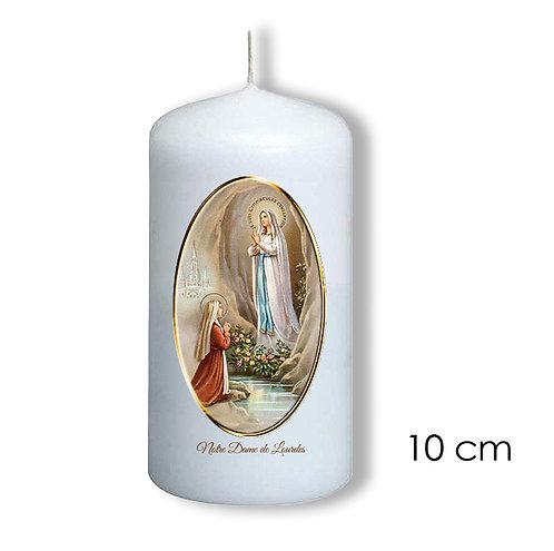 Bougie de dévotion -Notre Dame Lourdes  - 707