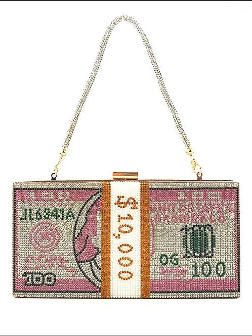Stack of Cash Money Clutch