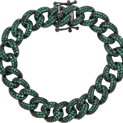Iced Out Miami Cuban Chain Bracelet