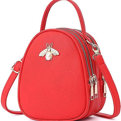 Red Small Crossbody Bags Shoulder Bag