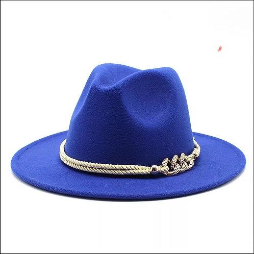 Royal Blue Fedora