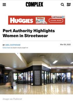Women In Streetwear Exhibit in Port Auho