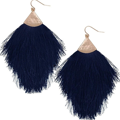 Chic Fringe Tassel Statement Dangle Earrings