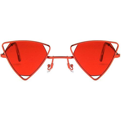 Red Triangle Sunglasses