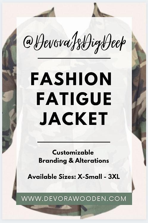 Fashion FATIGUE Jacket
