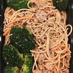 Turkey w/Veggies and Peanut Noodles