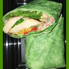 Chipotle Spinach Chicken Wrap