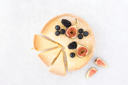 Cheesecake with Figs