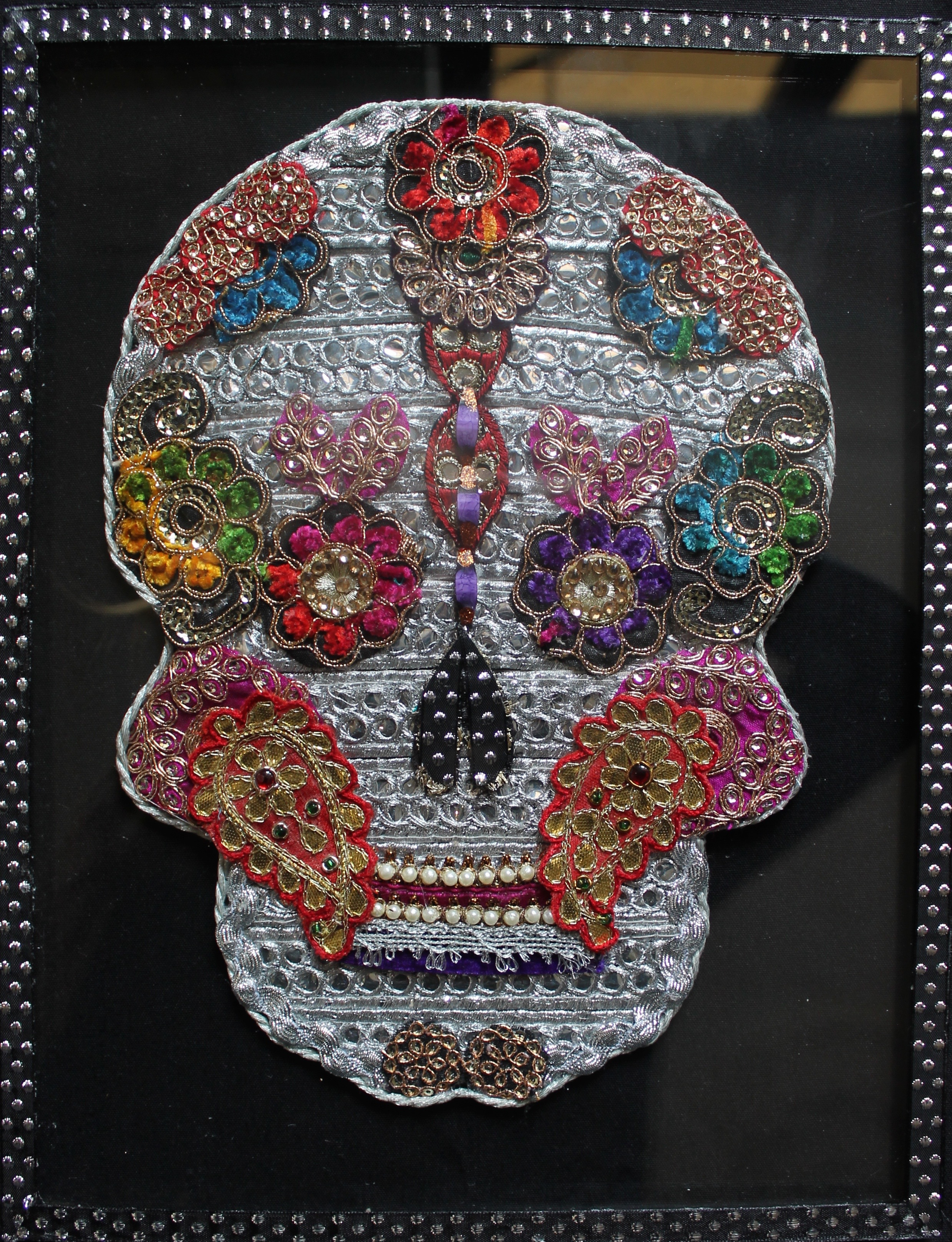Multi Coloured Sugar Skull