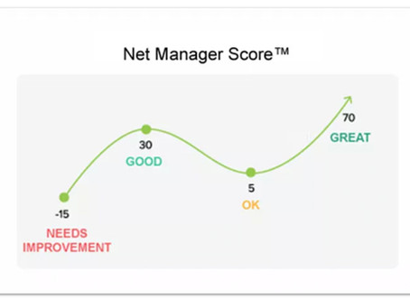 Introducing the Net Manager Score™... an NPS for people leaders!