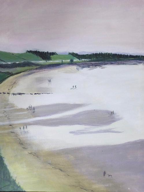 LRO 003 Maidens Beach by Linda Roser