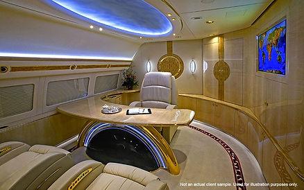 jet interior