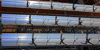 Calentadores solares para industria